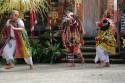 Hexe im Barong Tanz auf Bali