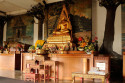 Innenansicht des Brahma Vihara Ashrama, Bali