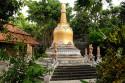 Stupa im Brahma Vihara Ashrama, Bali