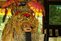 Barong im Pura Taman Ayun in Mengwi, Bali