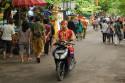 Zufahrt zum Tempel Tanah Lot, Bali