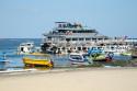 Ausflugsboot in Tanjung Benoa, Bali