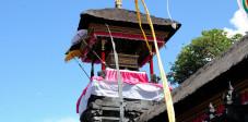 Trommelturm des Pura Goa Lawah, Bali