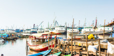 Sunda Kelapa, historischer Hafen, Jakarta, Java, Indonesien
