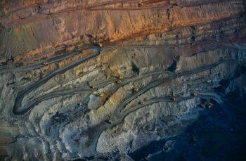 Grasberg Goldmine in Indonesien